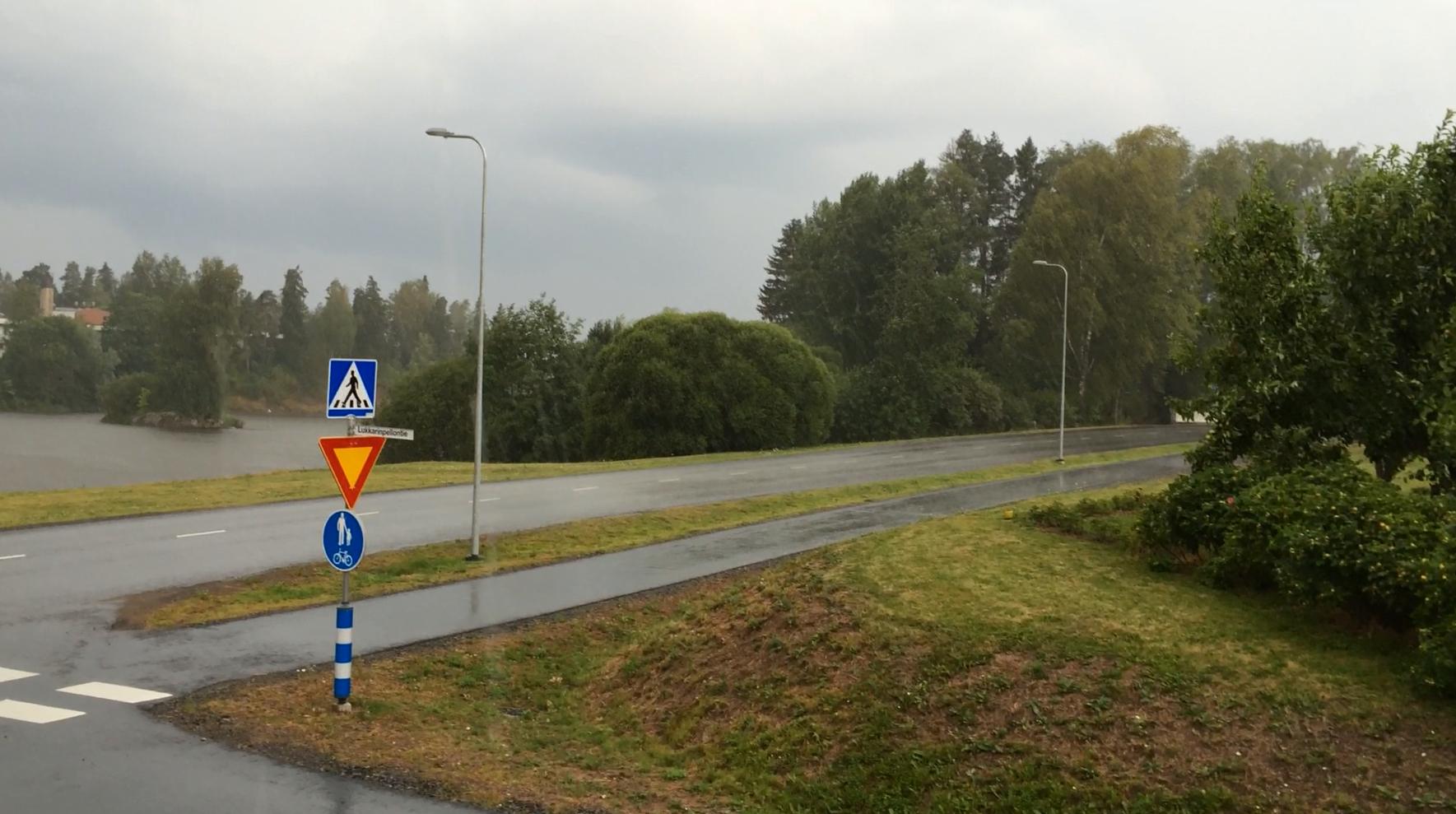 Ukkosmyrsky 30.7.2014. Kuva: Tuomas Kuhalainen